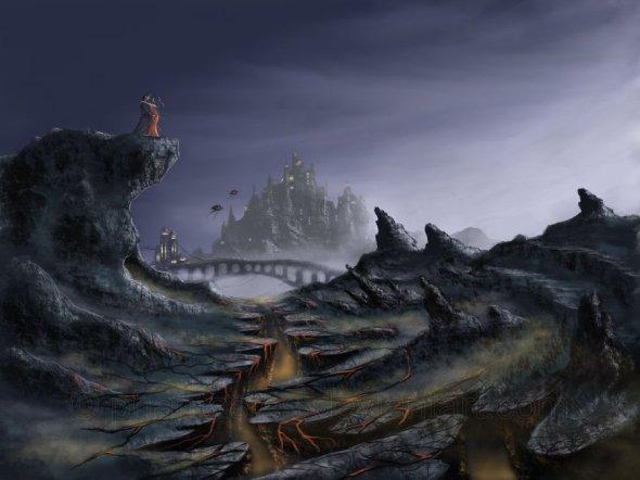 Paysage post-apocalyptique