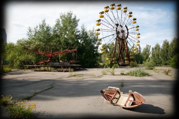 Pripiat - Tchernobyl