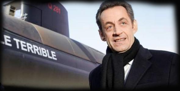 Nicolas Sarkozy sous-marin nucléaire bombe atomique